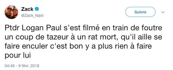 tweet logan paul rat 9