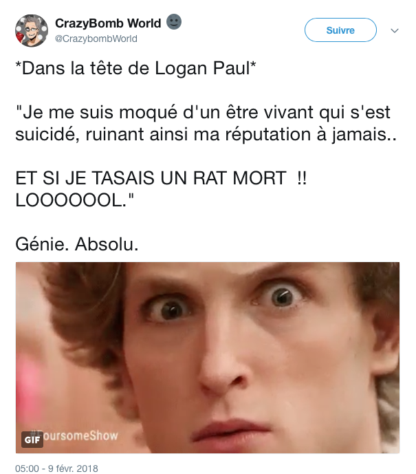 tweet logan paul rat 5