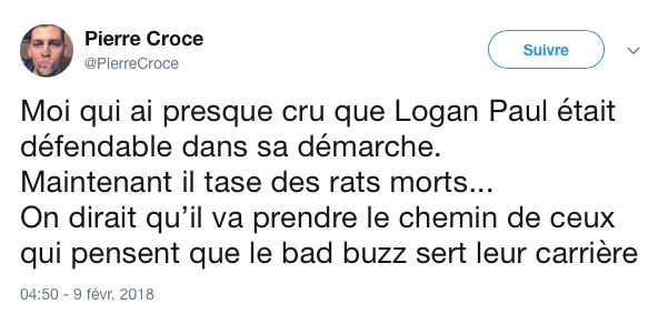 tweet logan paul rat 2
