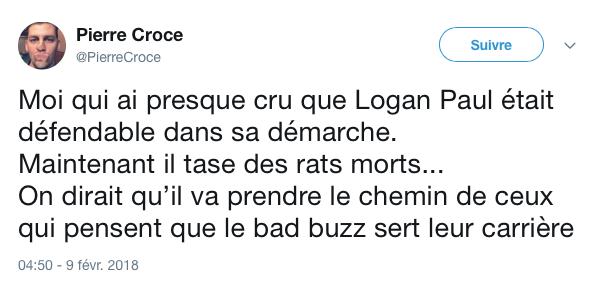 tweet logan paul rat 2