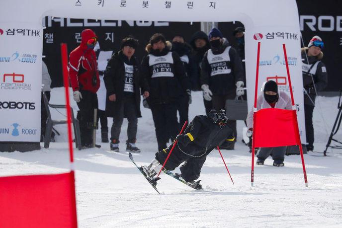 robot ski challenge JO