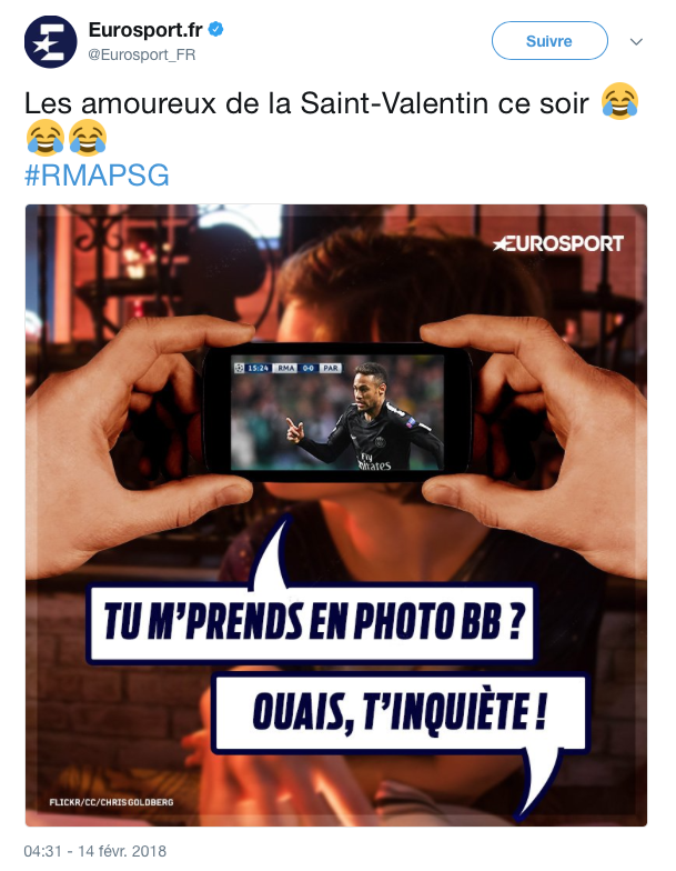 top tweet saint valentin 1