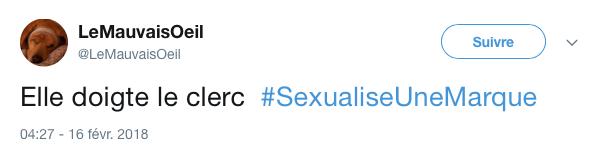 top tweet marque sexualise 10