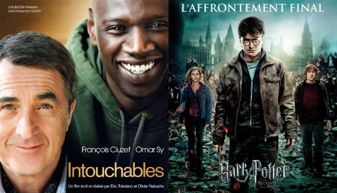 affiche Intouchables Harry Potter 8