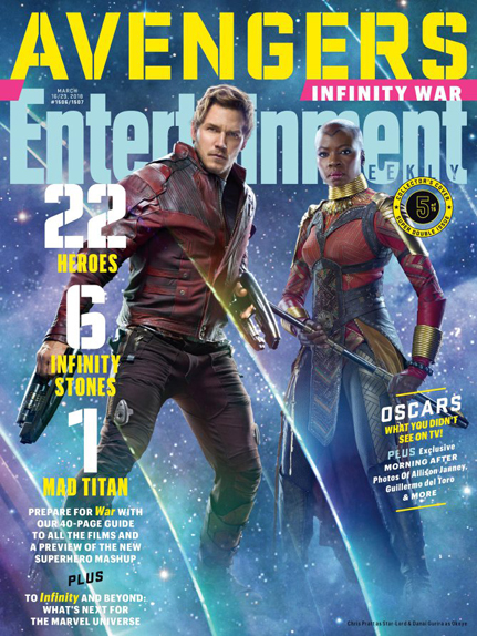 couverture Avengers infinity war 9