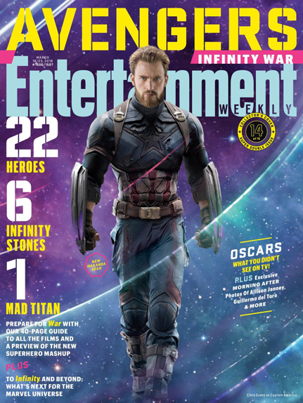 couverture Avengers infinity war 2
