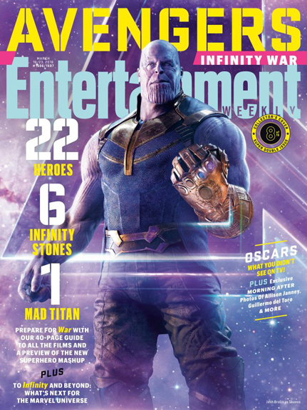 couverture Avengers infinity war 6