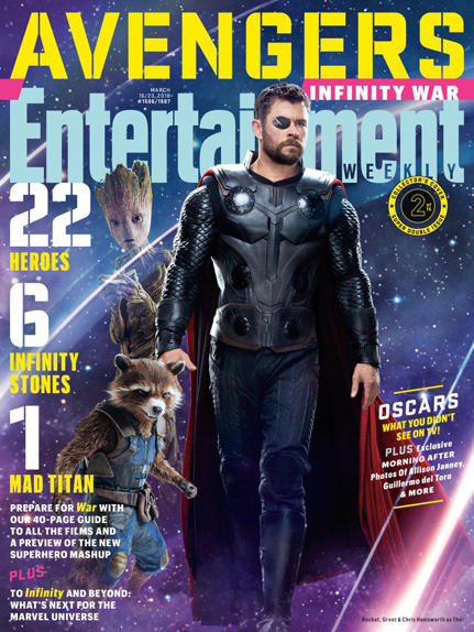 couverture Avengers infinity war 12
