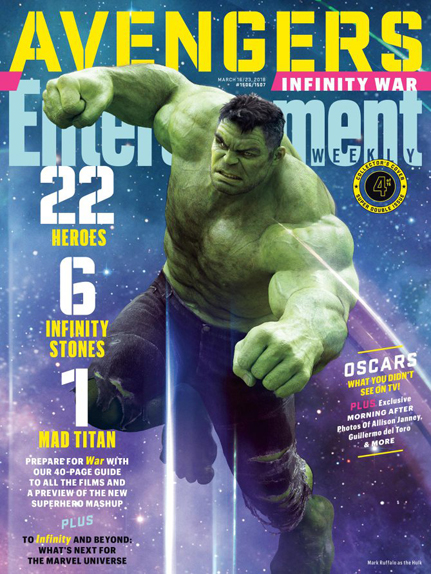 couverture Avengers infinity war 10