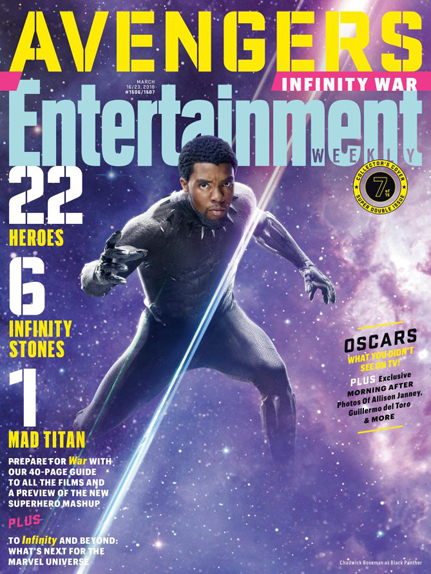 couverture Avengers infinity war 7