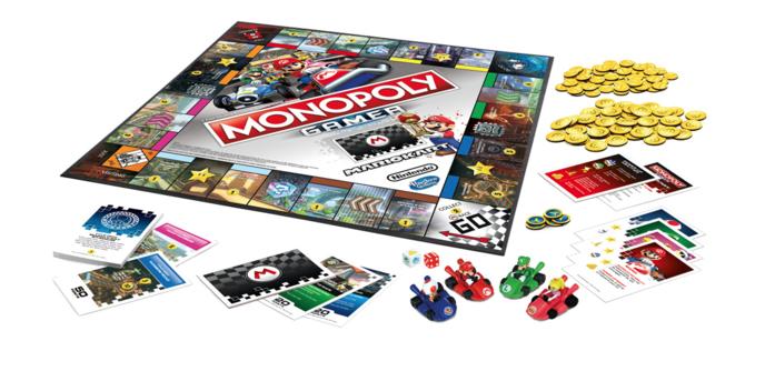 monopoly mario kart