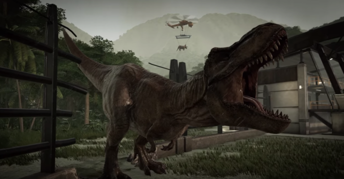 Jurassic World Evolution a l'air vraiment fou