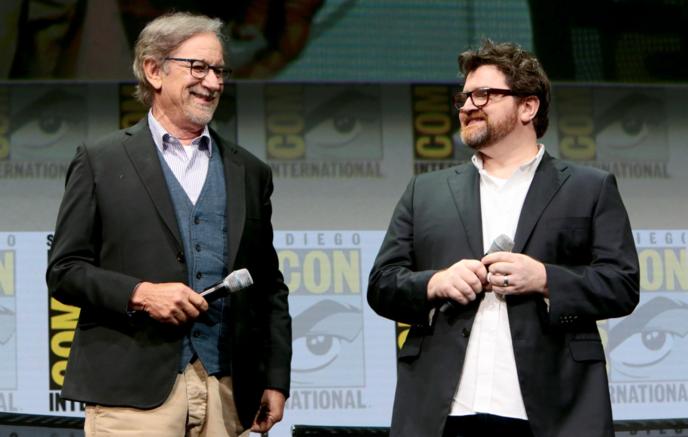 Steven Spielberg et Ernest Cline