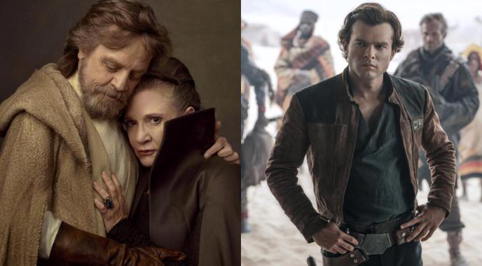 Luke, Leia et Solo