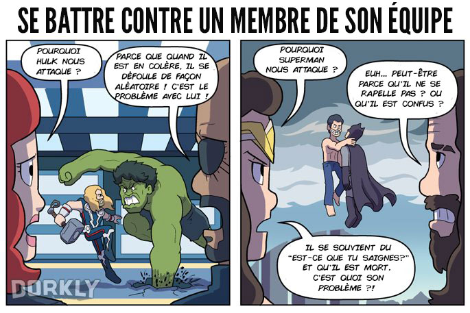 Bd avengers vs justice league 4