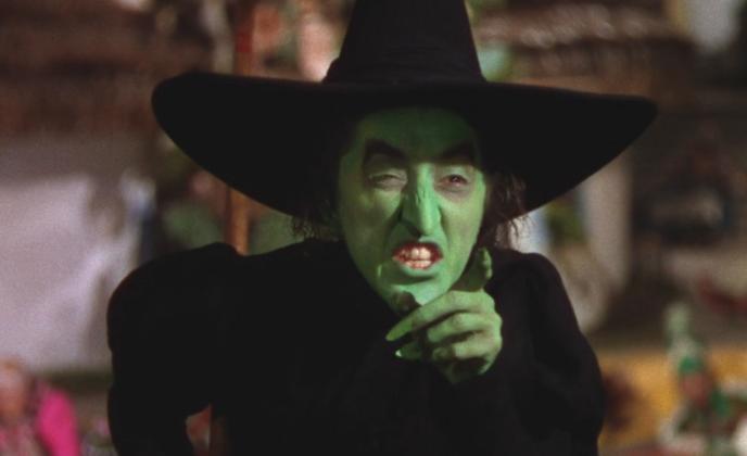 La méchante sorcière de l'Ouest