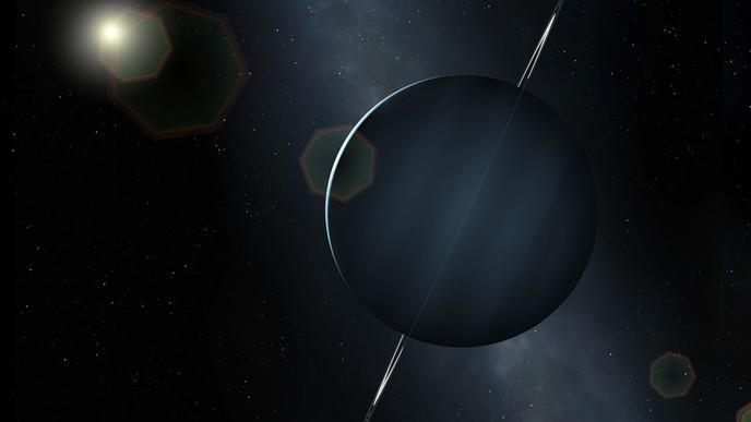 La planète Uranus sent l'oeuf pourri