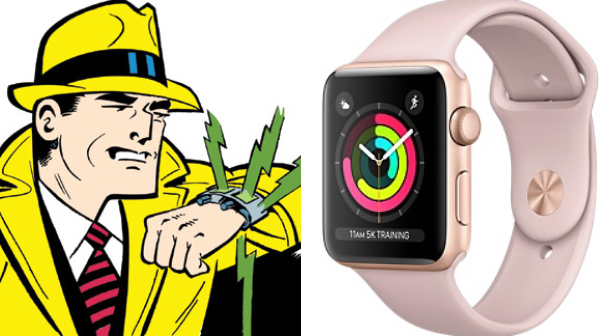 Dick Tracy apple watch
