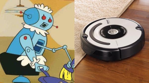 Les Jetson robot ménage