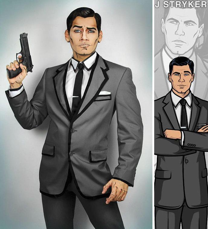 cosplay Jonathan stryker 31