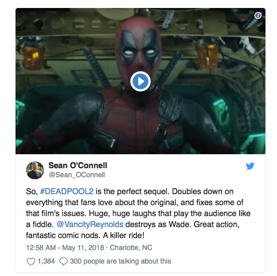 premieres reactions deadpool 2 4