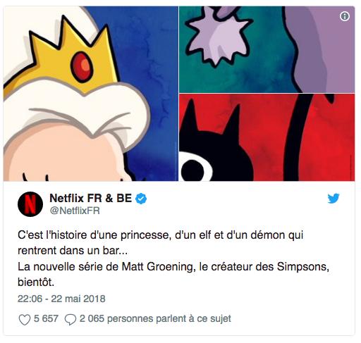 Le créateur des Simpson présente sa nouvelle série — Netflix