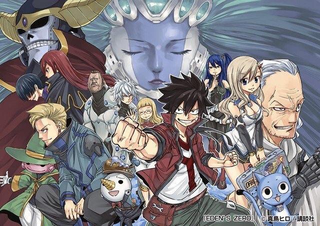 Fairy Tail Hiro Mashima Devoile Les Personnages De Sa Nouvelle