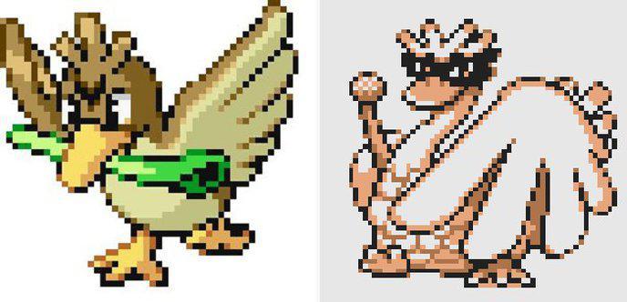 pokemon version or inconnus 14