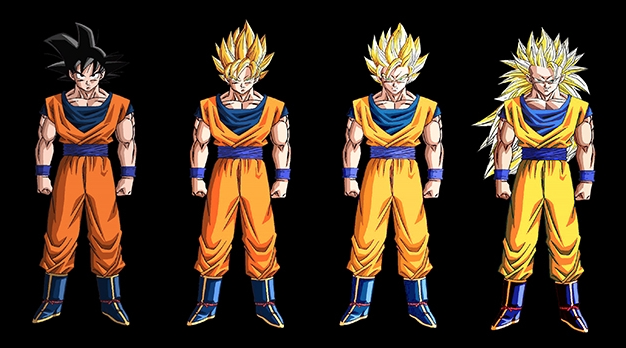 Dragon Ball Un Son Goku Version Super Saiyan 5 Animé Par