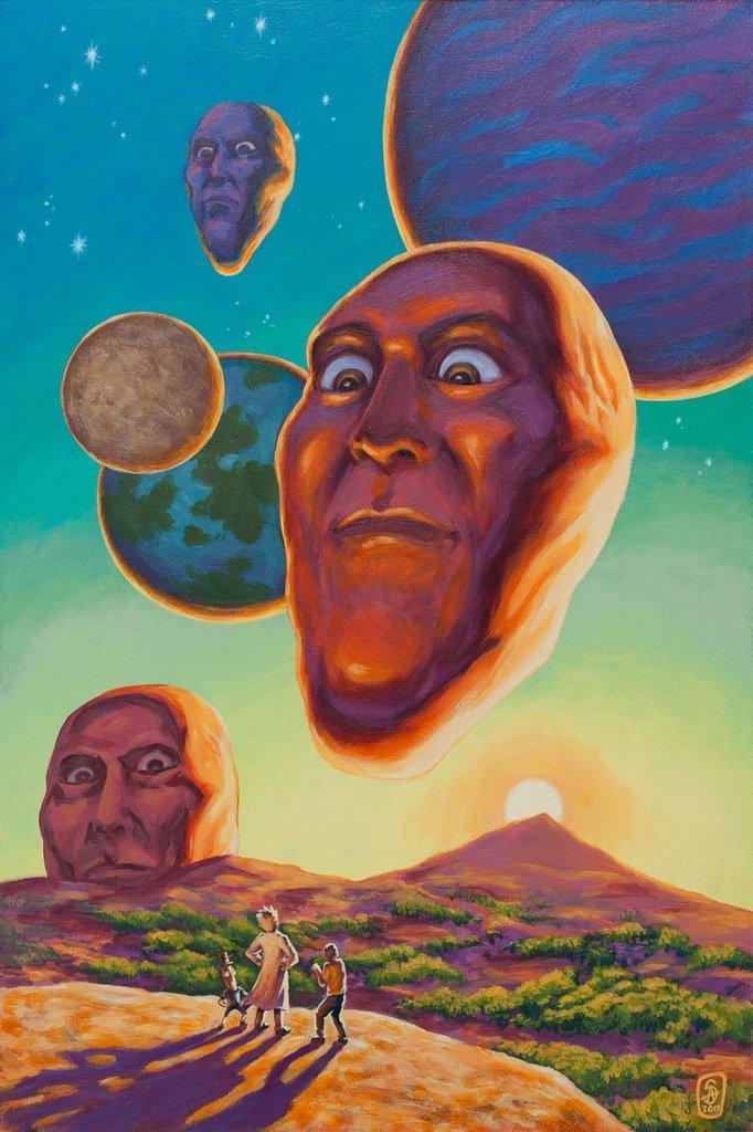les têtes géantes