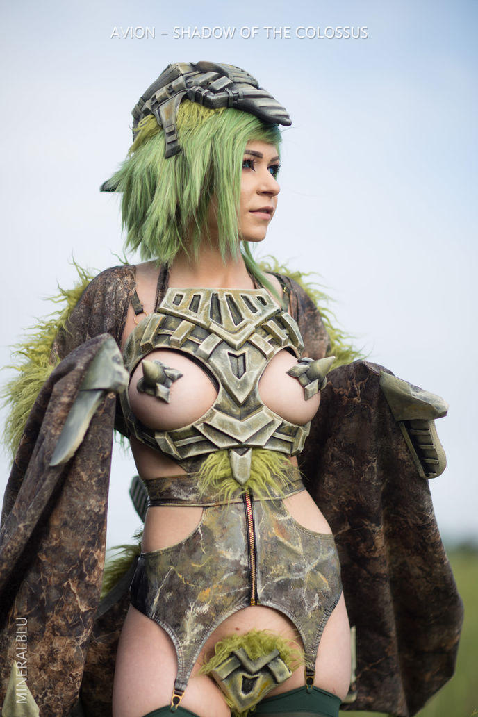cosplay shadow of the colossus 13