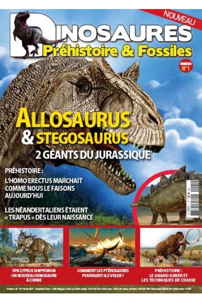 Dinosaures, Préhistoire & Fossiles
