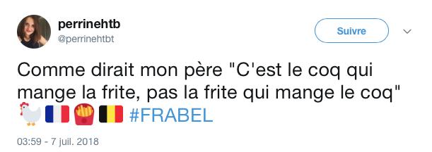 top tweets France Belgique 2018 29