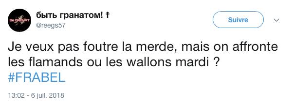 top tweets France Belgique 2018 26