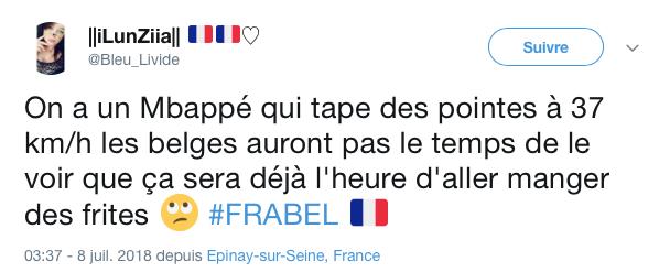 top tweets France Belgique 2018 23