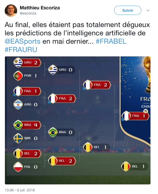 top tweets France Belgique 2018 16