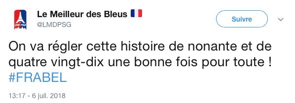 top tweets France Belgique 2018 12
