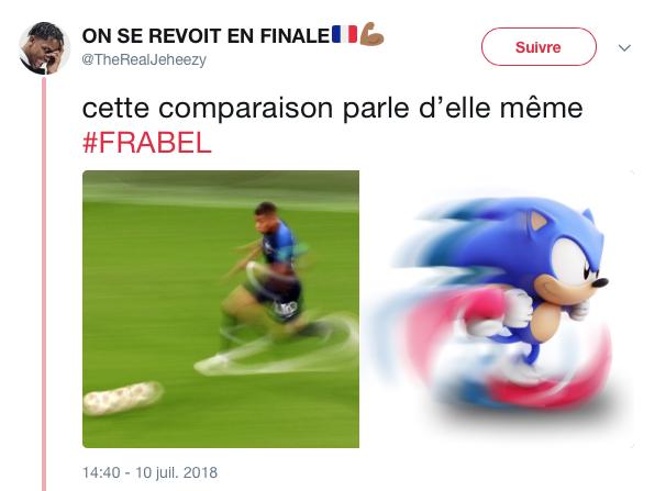top tweet Belgique France 33