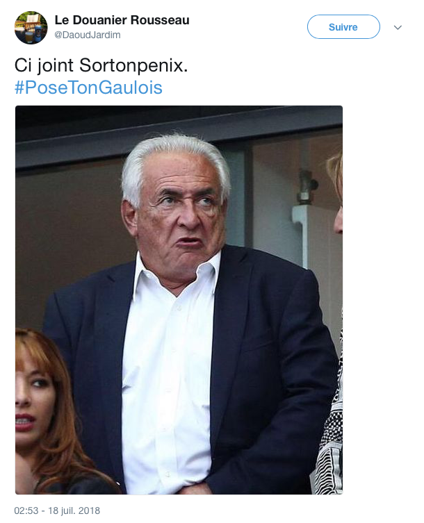 top tweets pose ton gaulois 22
