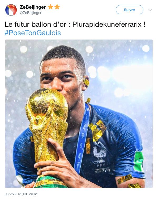 top tweets pose ton gaulois 19