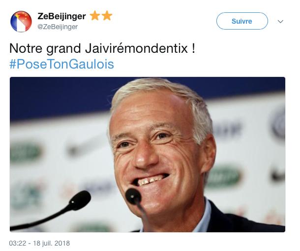 top tweets pose ton gaulois 5