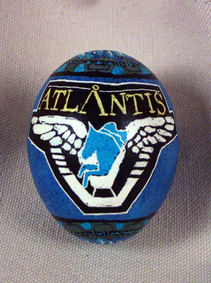 Œufs de Pâques stargate atlantis