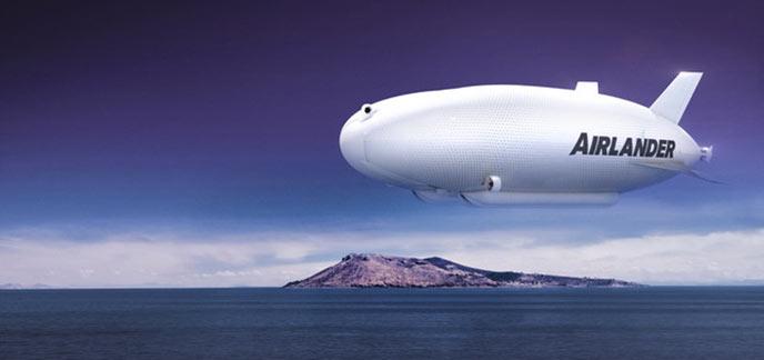 Airlander le plus grand avion du monde d voil en grande bretagne - Quel est le plus grand porte avion du monde ...