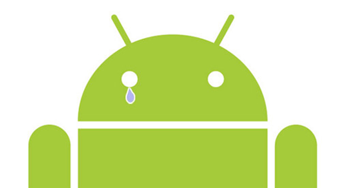 android cry