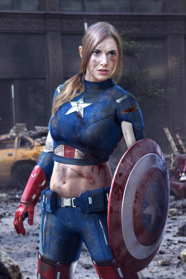 captain marvel pourquoi une femme