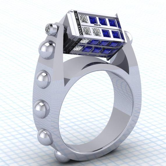 Préféré Des bagues de fiançailles à faire frémir un geek (et une geekette) #WX_85