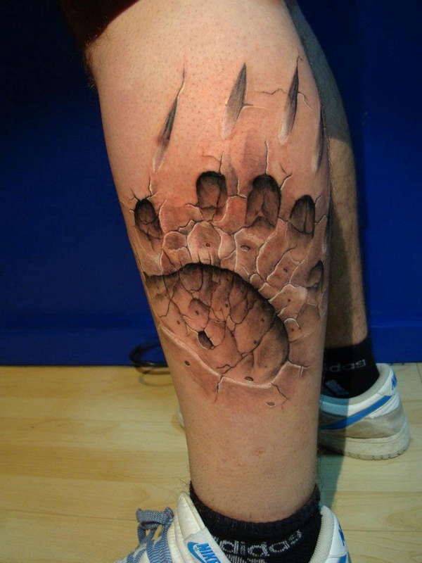 tatouage homme 3d