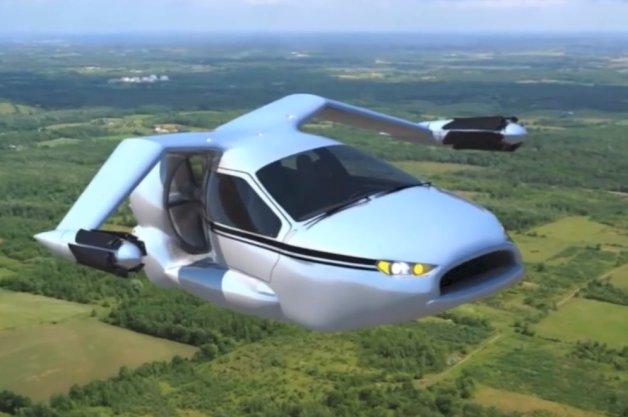 terrafugia tf x la premi re voiture volante en 2015. Black Bedroom Furniture Sets. Home Design Ideas