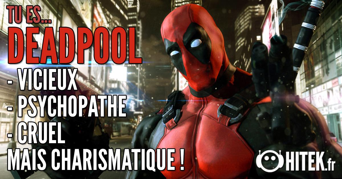 [Test] Quel super-héros es-tu ? 2.0 Deadpool-1