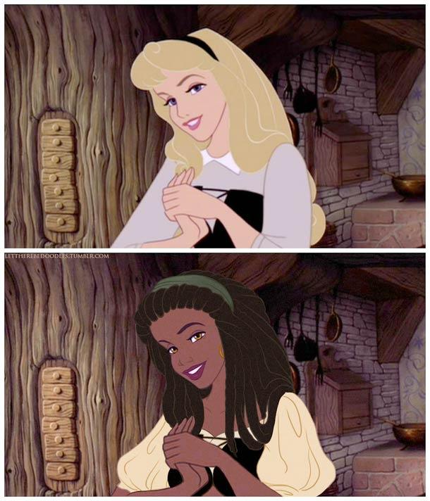 Venez postez vos photos (images) drôles / amusantes de Disney - Page 8 Disney-princesses-other-countries-1